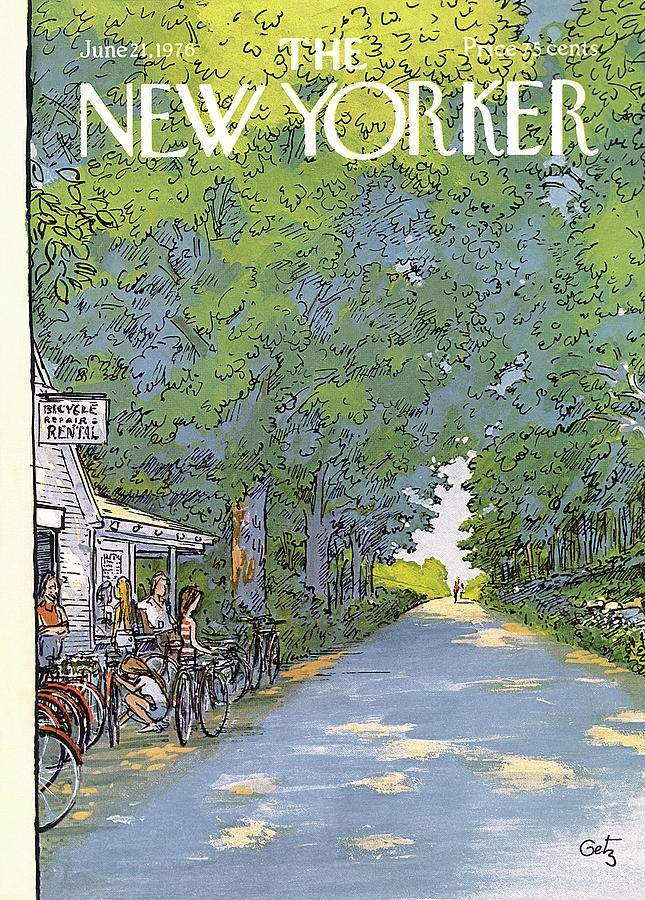 New Yorker June 21st, 1976 Painting by Arthur Getz