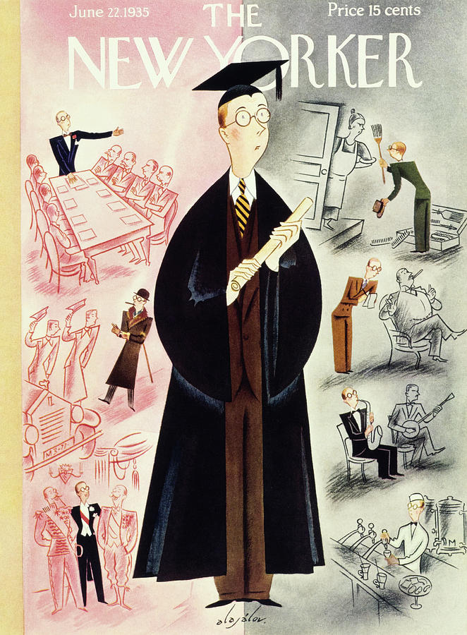 New Yorker June 22 1935 Painting by Constantin Alajalov