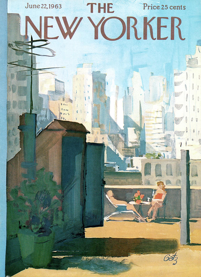 New Yorker June 22nd, 1963 Painting by Arthur Getz