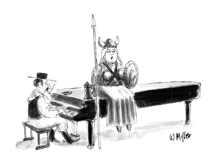 New Yorker June 22nd, 1987 Drawing by Warren Miller