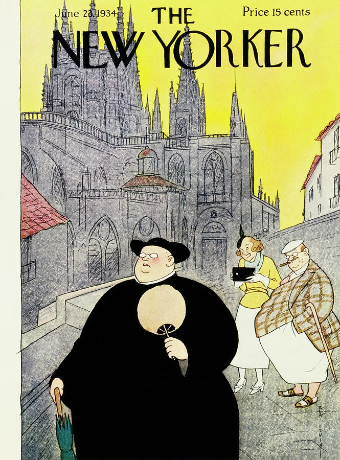 New Yorker June 23 1934 Painting by Rea Irvin