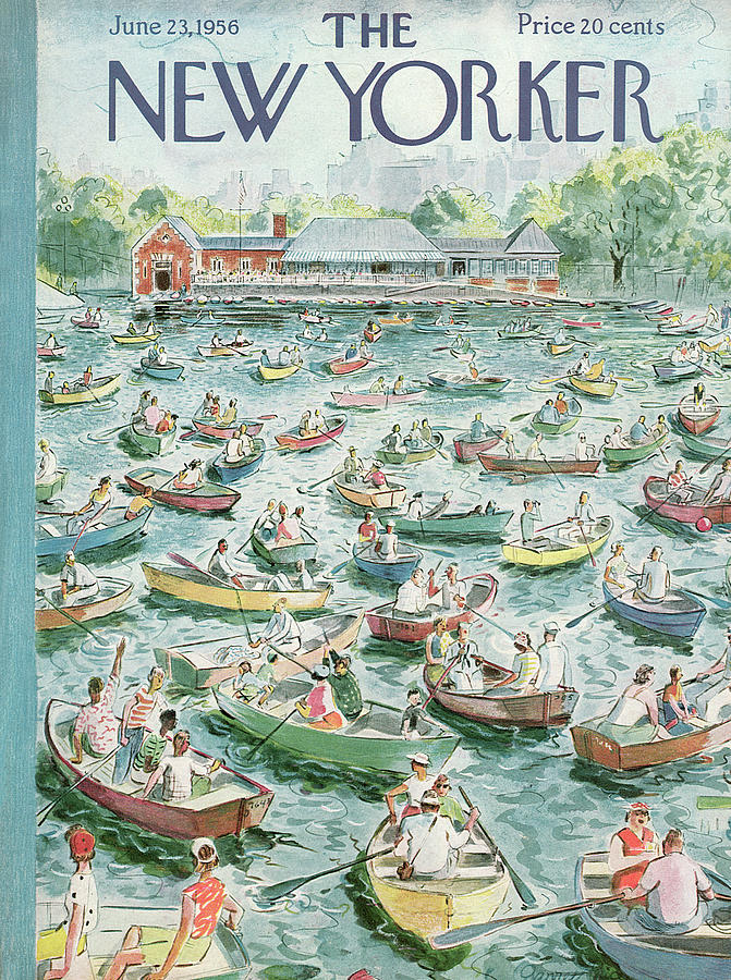 New Yorker June 23rd, 1956 Painting by Garrett Price