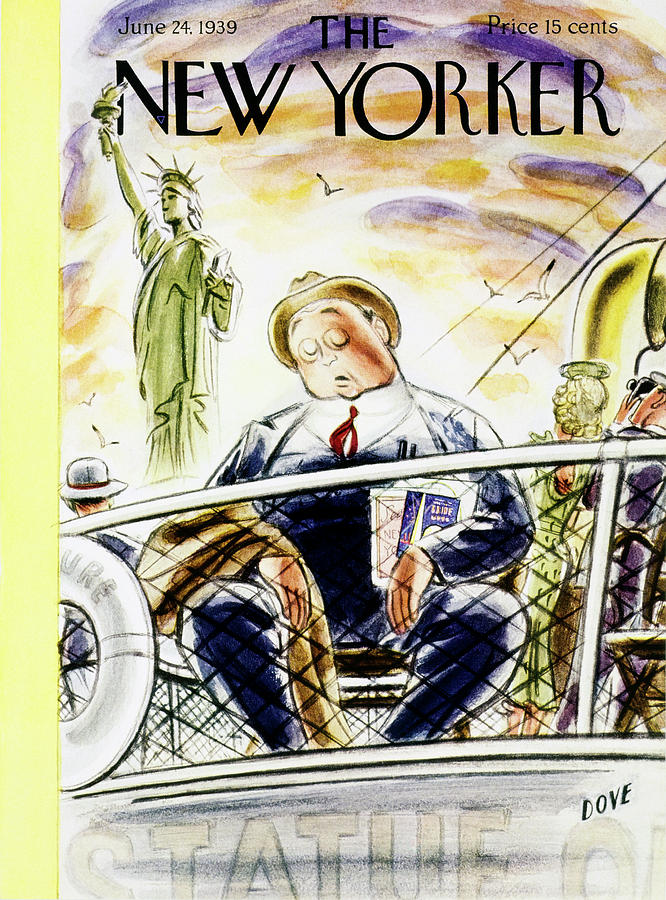New Yorker June 24 1939 Painting by Leonard Dove