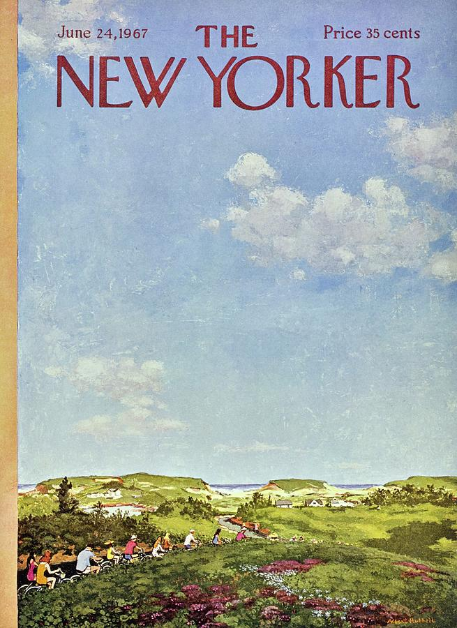 New Yorker June 24th 1967 Painting by Albert Hubbell