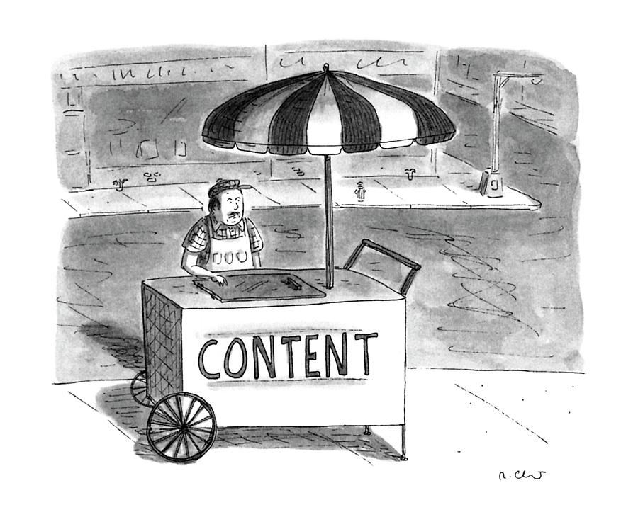New Yorker June 24th, 1996 Drawing by Roz Chast
