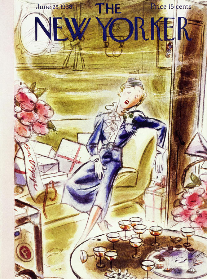 New Yorker June 25 1938 Painting by Leonard Dove