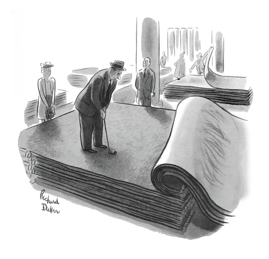 New Yorker June 25th, 1955 Drawing by Richard Decker