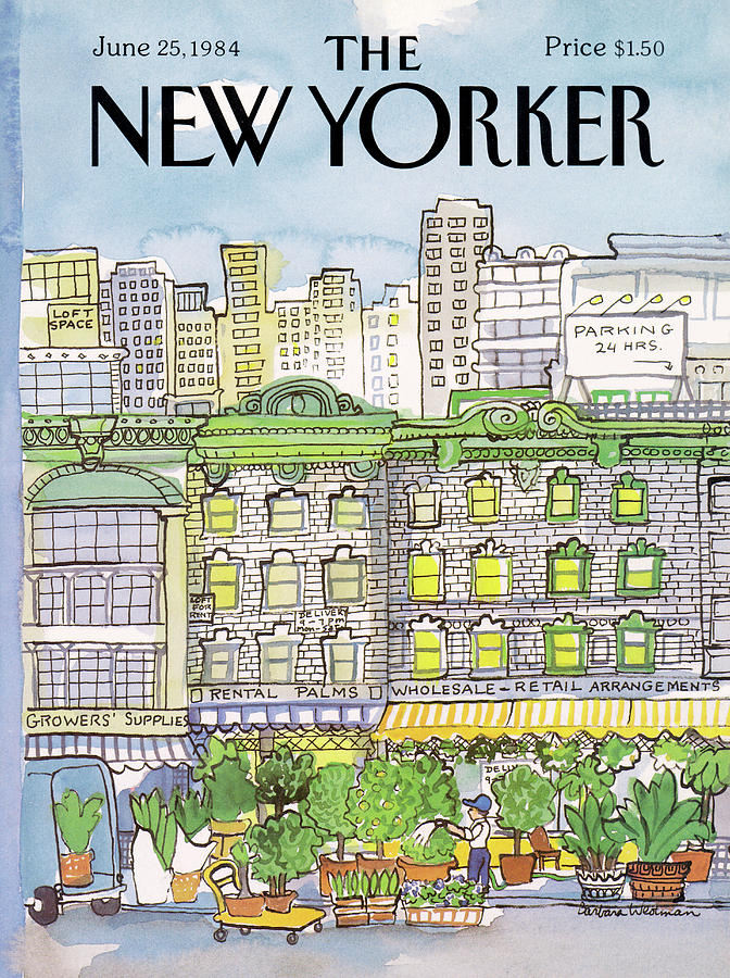 New Yorker June 25th, 1984 Painting by Barbara Westman