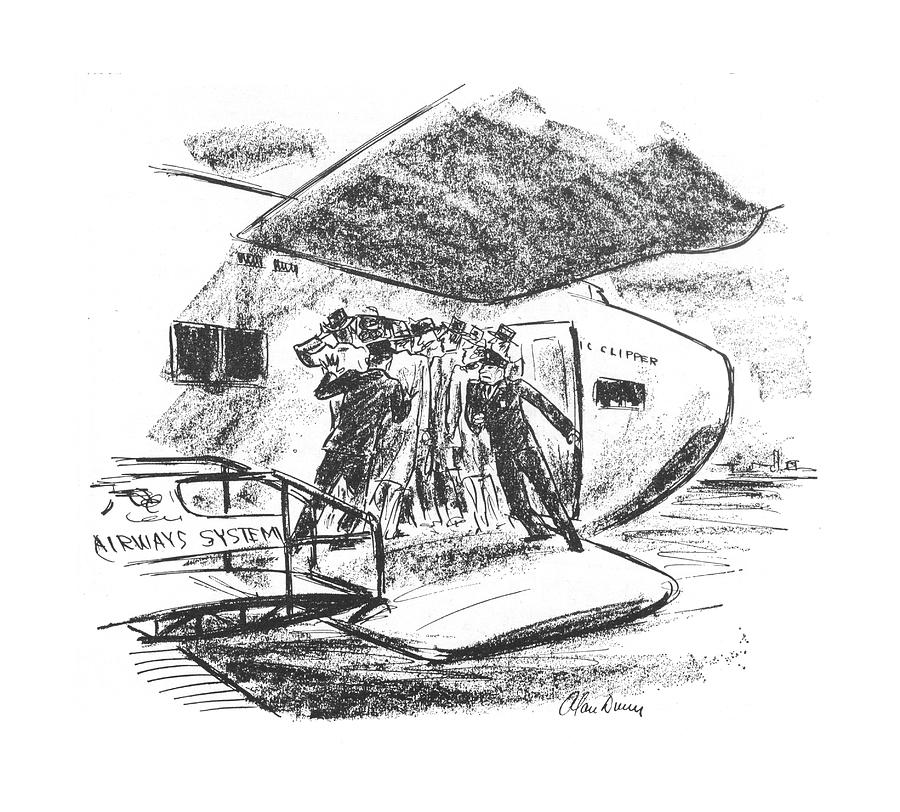 New Yorker June 26th, 1943 Drawing by Alan Dunn