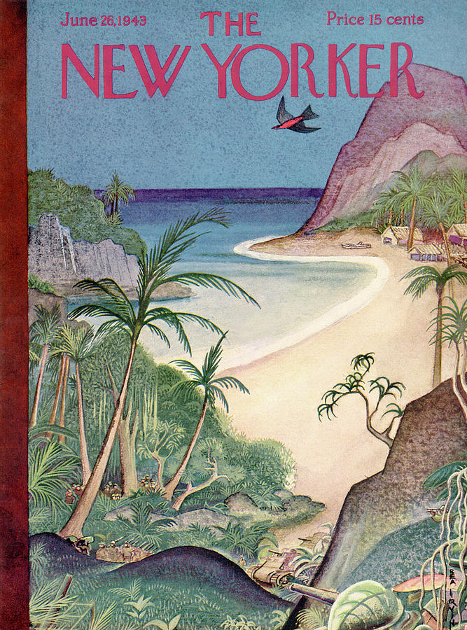 New Yorker June 26, 1943 Painting by Rea Irvin