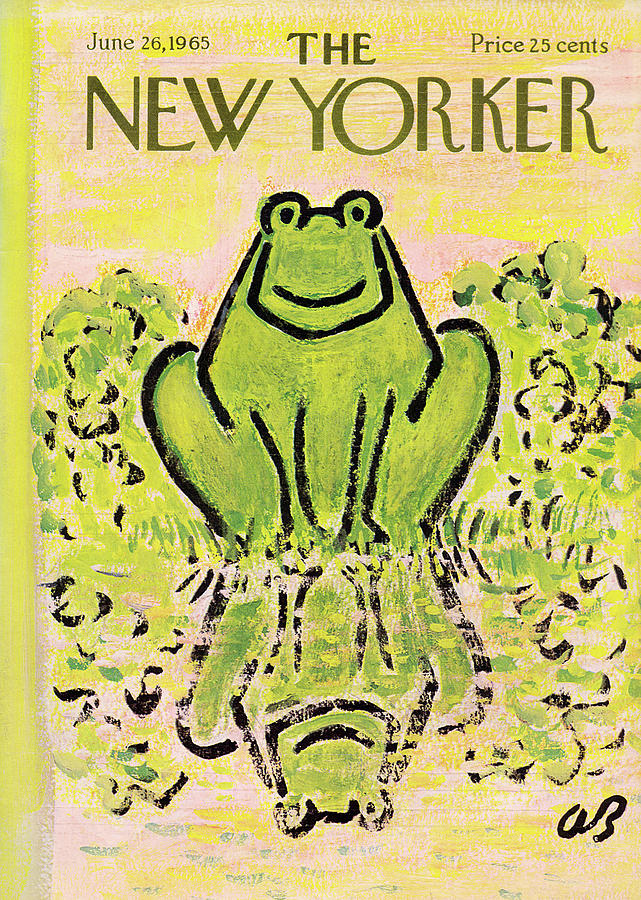 New Yorker June 26th, 1965 Painting by Abe Birnbaum