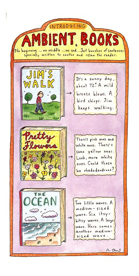 New Yorker June 26th, 1995 Drawing by Roz Chast
