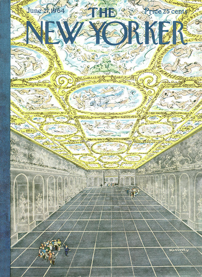 New Yorker June 27th, 1964 Painting by Anatol Kovarsky