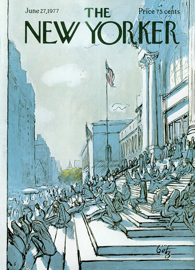 New Yorker June 27th, 1977 Painting by Arthur Getz