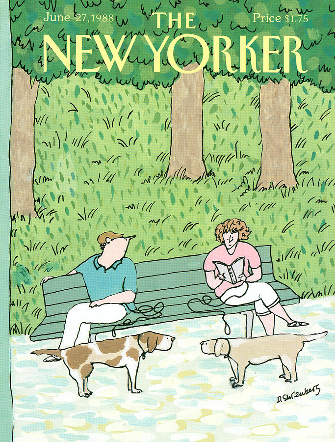New Yorker June 27th, 1988 Painting by Devera Ehrenberg