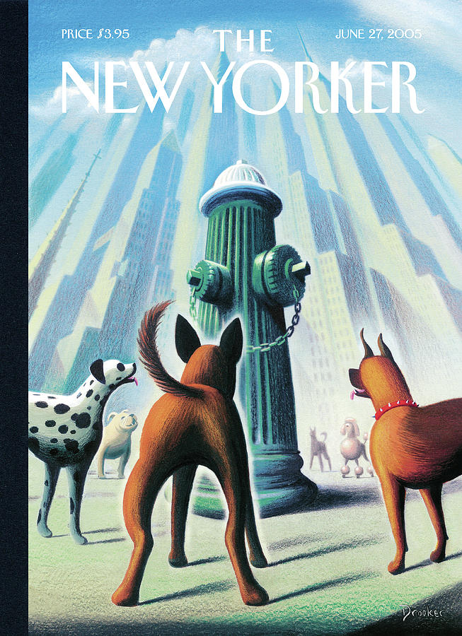 New Yorker June 27th, 2005 Painting by Eric Drooker