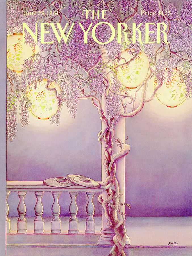 New Yorker June 29th, 1981 Painting by Jenni Oliver