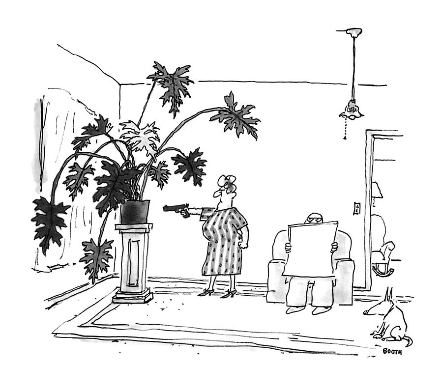 New Yorker June 29th, 1992 Drawing by George Booth