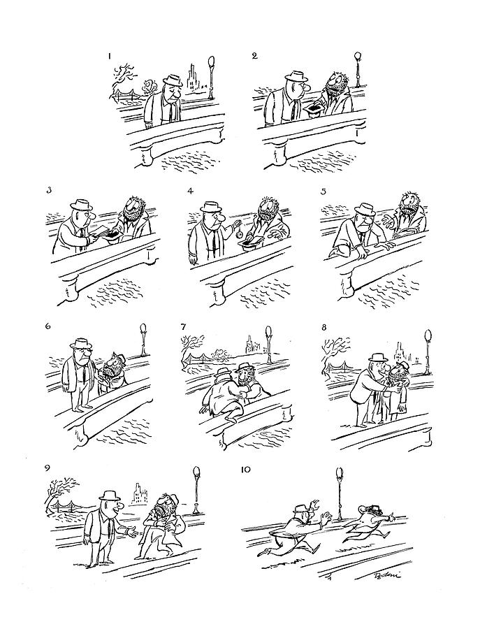 New Yorker June 2nd, 1962 Drawing by Eldon Dedini