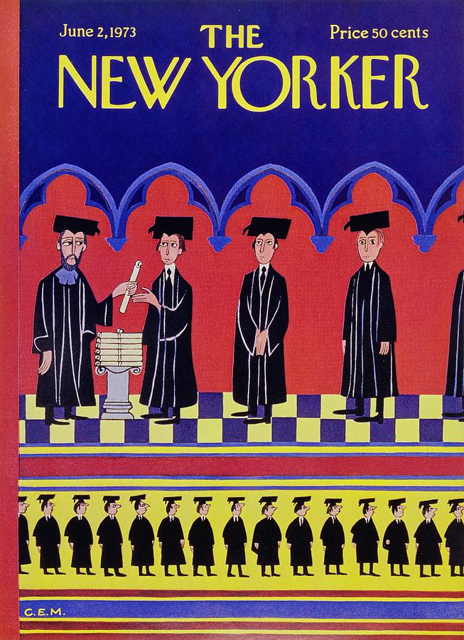 New Yorker June 2nd 1973 Painting by Charles Martin