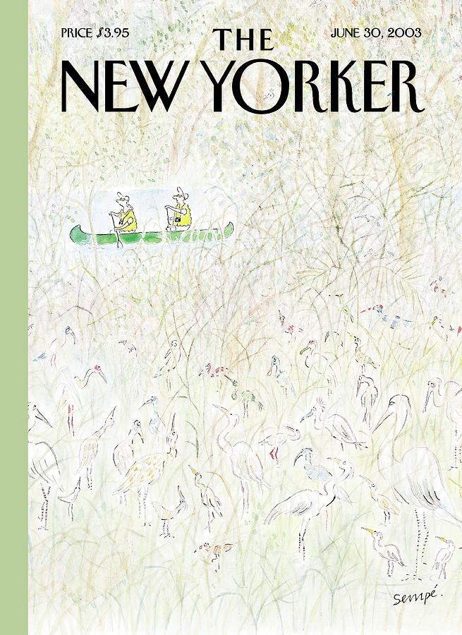 New Yorker June 30th, 2003 Painting by Jean-Jacques Sempe