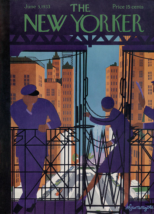 New Yorker June 3rd, 1933 Painting by Adolph K Kronengold