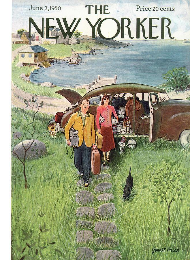New Yorker June 3rd, 1950 Painting by Garrett Price