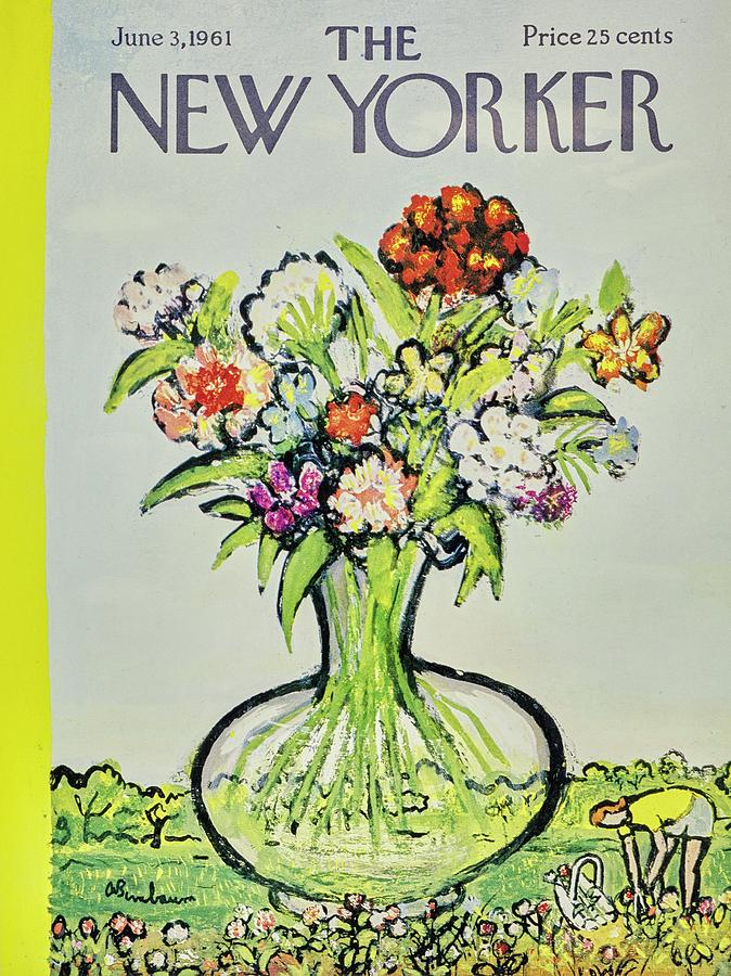 New Yorker June 3rd 1961 Painting by Aaron Birnbaum