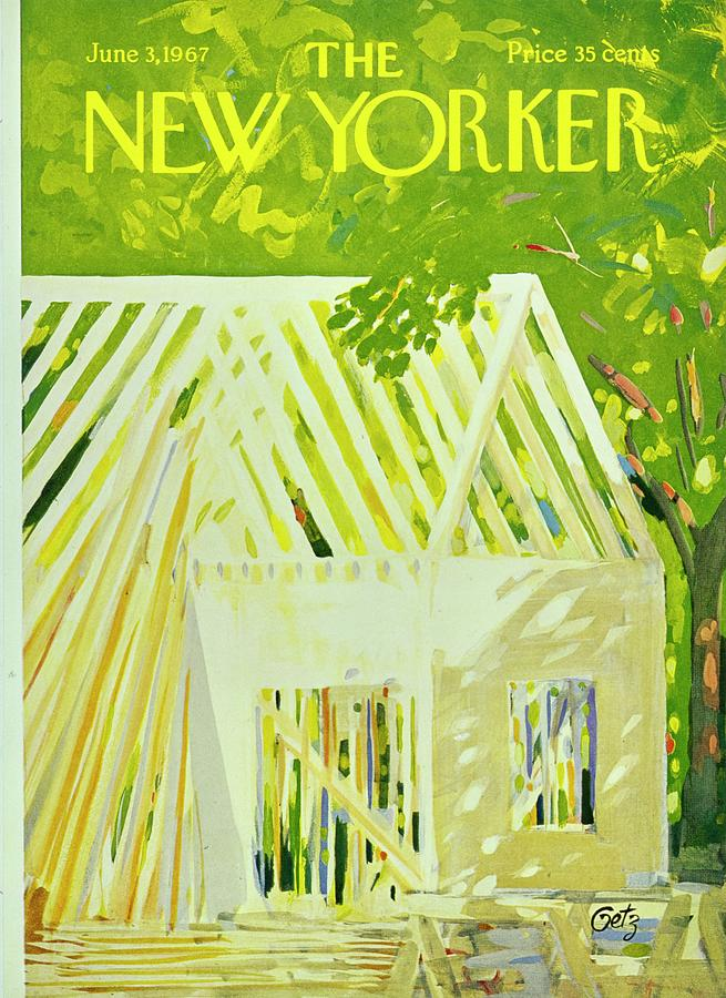 New Yorker June 3rd 1967 Painting by Arthur Getz