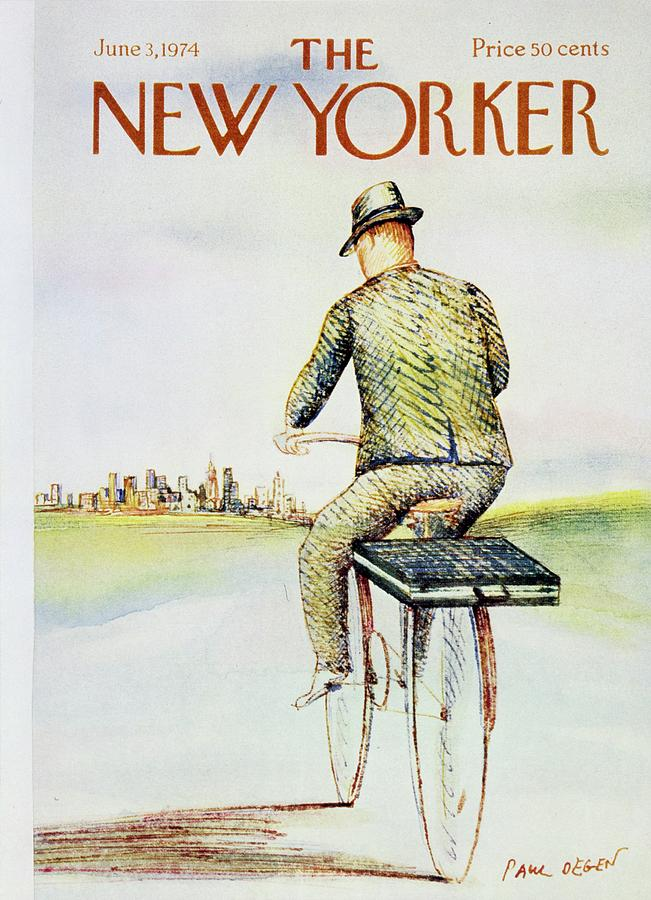 New Yorker June 3rd 1974 Painting by Paul Degen