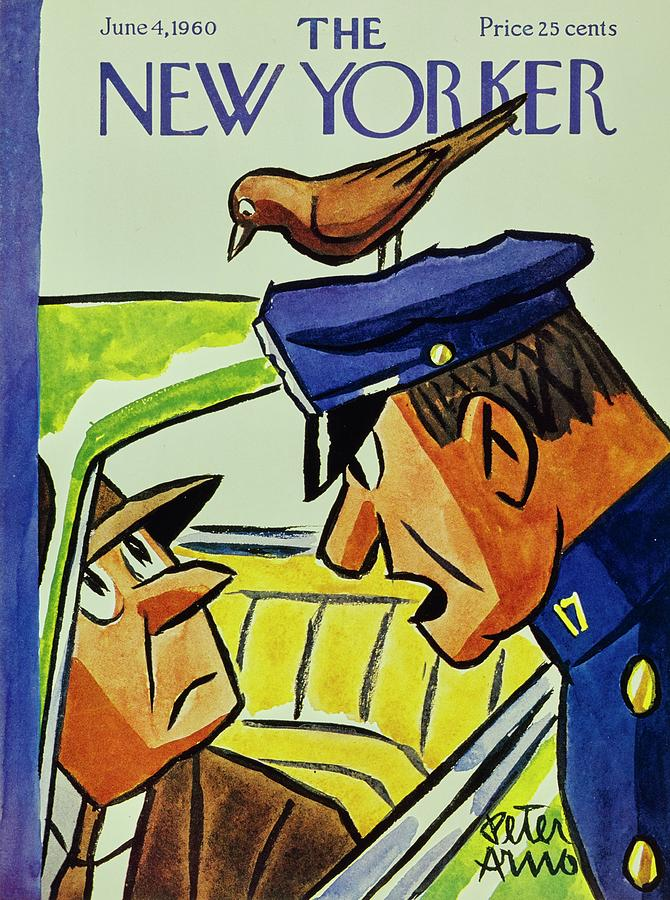 New Yorker June 4th 1960 Painting by Peter Arno
