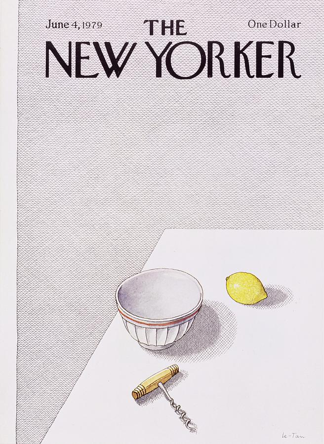 New Yorker June 4th 1979 Painting by Pierre Le-Tan