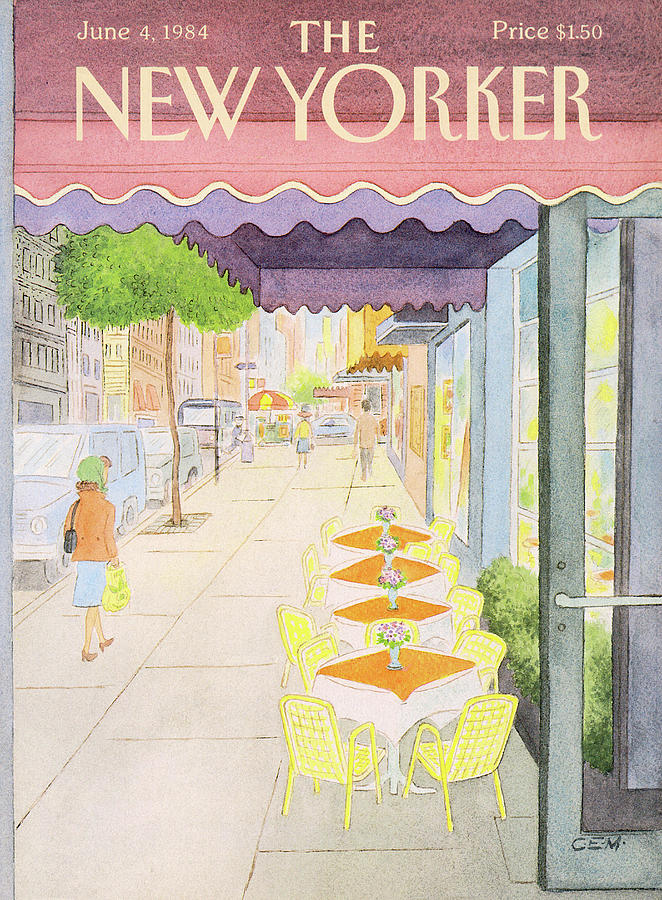 New Yorker June 4th, 1984 Painting by Charles E Martin