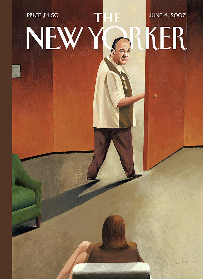 New Yorker June 4th, 2007 Painting by Mark Ulriksen
