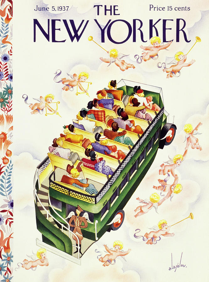 New Yorker June 5 1937 Painting by Constantin Alajalov