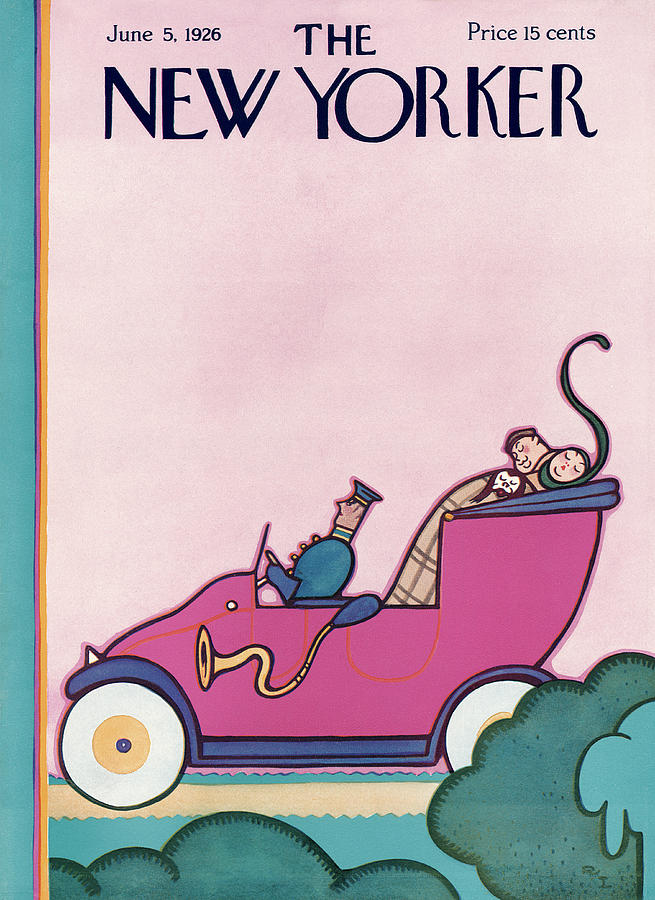 New Yorker June 5th, 1926 Painting by Rea Irvin