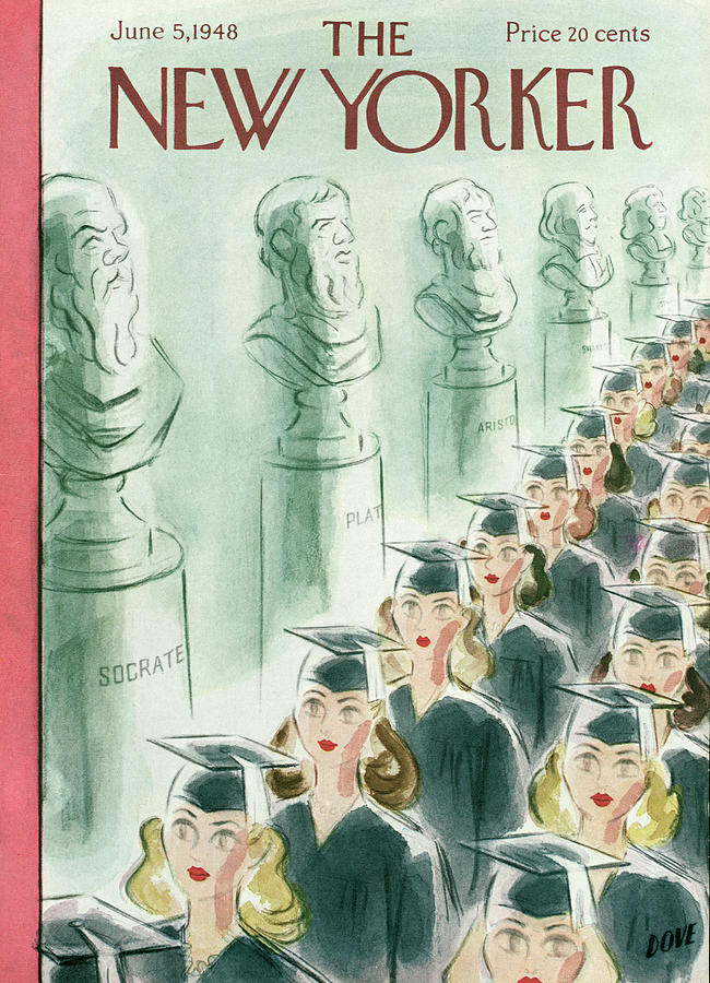 New Yorker June 5th, 1948 Painting by Leonard Dove