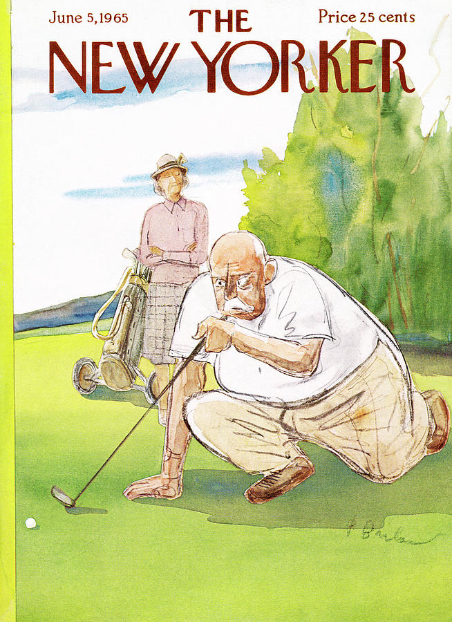 New Yorker June 5th, 1965 Painting by Perry Barlow