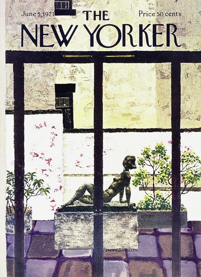 New Yorker June 5th 1971 Painting by Laura Jean Allen