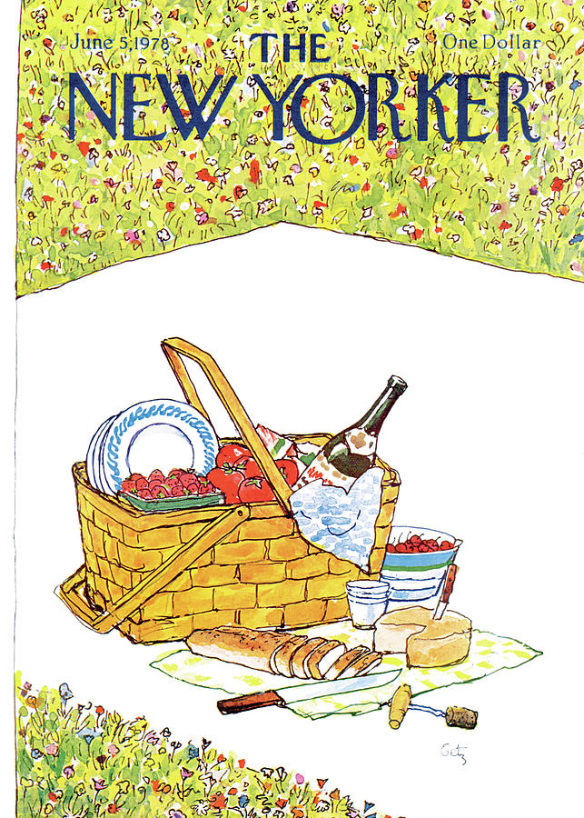 New Yorker June 5th, 1978 Painting by Arthur Getz