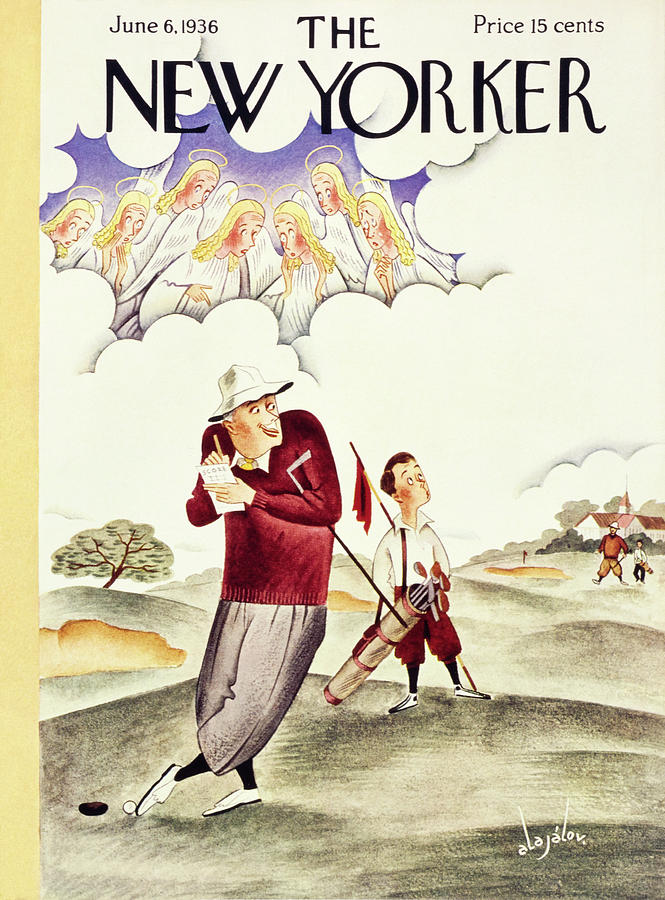 New Yorker June 6 1936 Painting by Constantin Alajalov