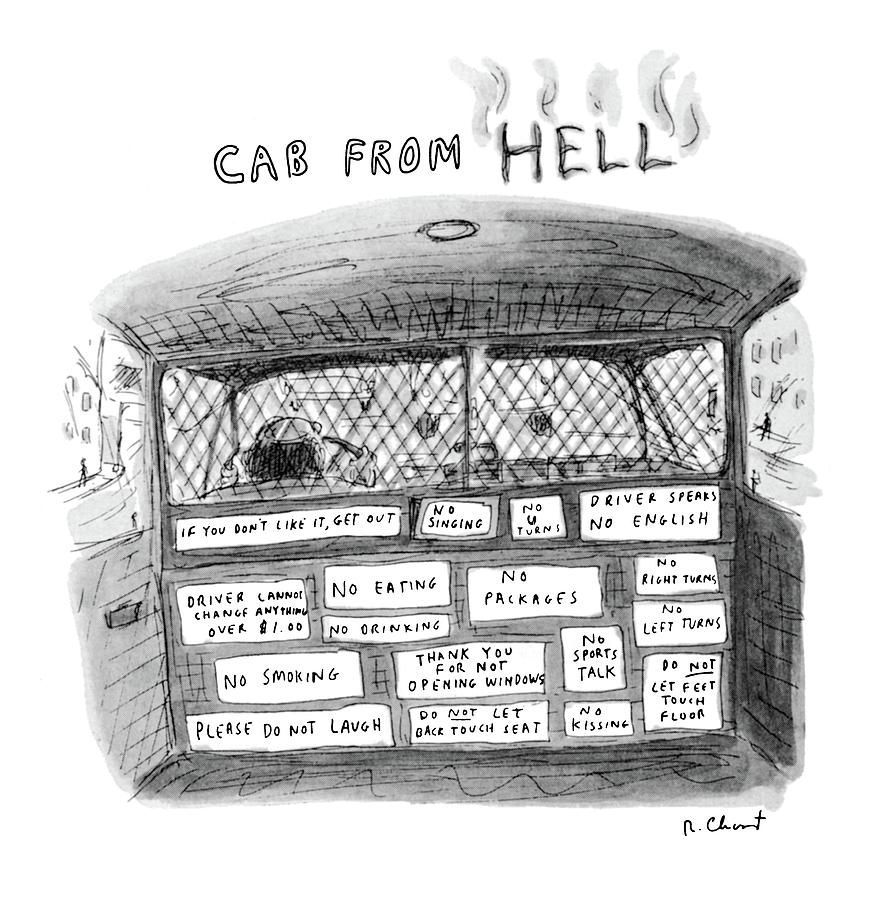 New Yorker June 6th, 1983 Drawing by Roz Chast