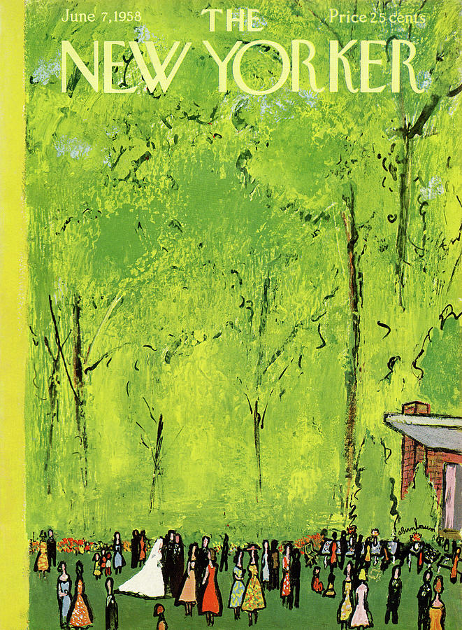 New Yorker June 7th, 1958 Painting by Abe Birnbaum