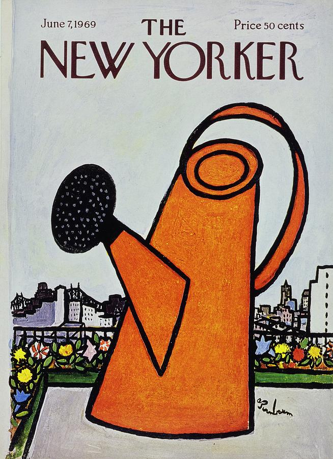 New Yorker June 7th 1969 Painting by Aaron Birnbaum