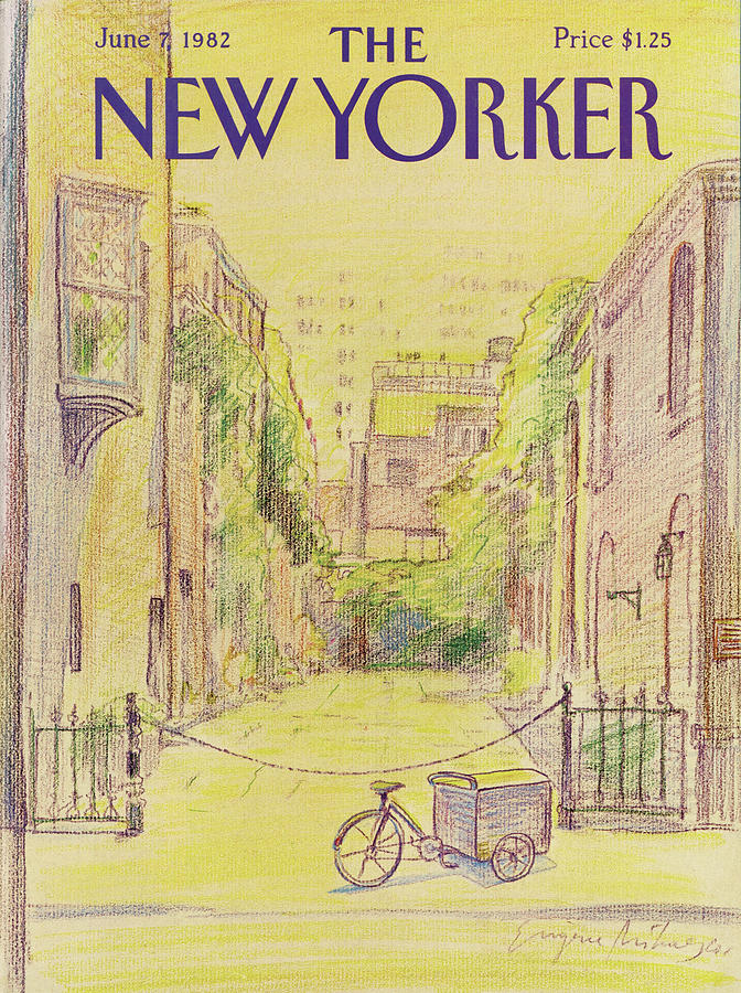 New Yorker June 7th, 1982 Painting by Eugene Mihaesco