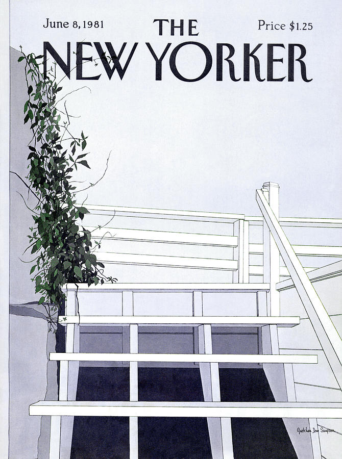 New Yorker June 8th, 1981 Painting by Gretchen Dow Simpson