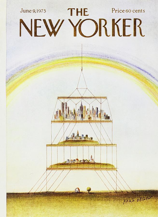New Yorker June 9th 1975 Painting by Paul Degen