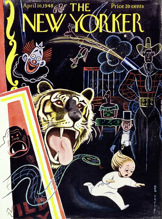 New Yorker April 10, 1948 Painting by Rea Irvin
