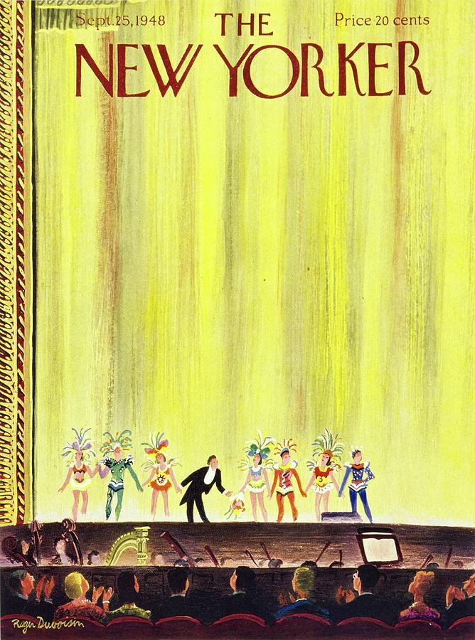 New Yorker September 25, 1948 Painting by Roger Duvoisin