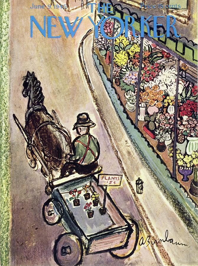 New Yorker June 9 1945 Painting by Aaron Birnbaum